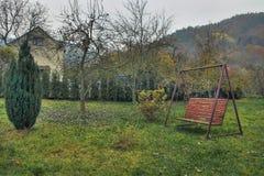Rural garden Stock Photo