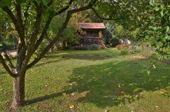 Rural garden Stock Images