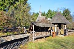Rural gate maramures. Rural household gate in maramures land, northern transylvania, romania Royalty Free Stock Photography