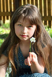 Rural Girl Royalty Free Stock Photography