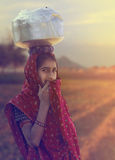 Rural Girl Royalty Free Stock Image