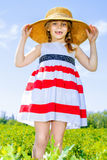 Rural girl Royalty Free Stock Photo