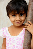 Rural Girl. Indian Rural Girl With smile face royalty free stock images