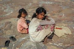 Rural Girls India Royalty Free Stock Image