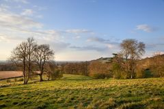 Rural Gloucestershire. Looking towards Meon Hill from Kiftsgate. Chipping Campden, Gloucestershire, England Stock Photo