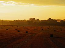 Rural Glow Royalty Free Stock Images