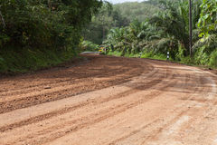 Rural gravel road Royalty Free Stock Photography