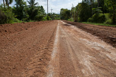Rural gravel road Stock Images