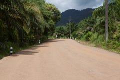 Rural gravel road Stock Photography