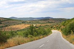 Rural Greece Stock Images