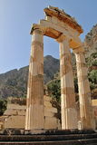 Rural Greek Delphi Temple Royalty Free Stock Photography