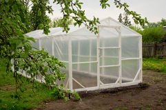 Rural greenhouse Stock Image