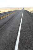 Rural highway Royalty Free Stock Photo