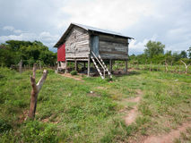 Rural home in Cambodia Stock Images