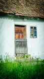 Rural home. Old rural house entrance in the sun Stock Images