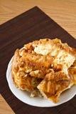 Rural homemade pie Stock Photo