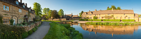 Rural homes, Cotswold, UK Stock Photos