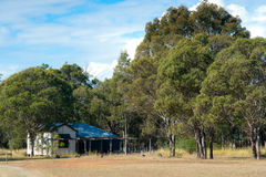 Rural Homestead - Australia Royalty Free Stock Photo