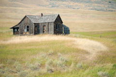 Rural homestead in Washington State, USA. This image shows a rural homestead in Washington State, USA stock images