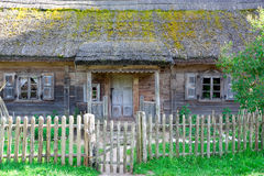 Rural house. Background can use the Internet, print advertising and design Royalty Free Stock Image