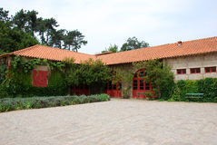 Rural House. A nice rural house in a farm in Oporto, Portugal Stock Photography