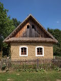 Rural house. In an open-air museum in Straznice, Czech Royalty Free Stock Photos