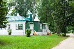 Rural house. The countryside house. Orel region. Russia stock photo