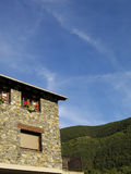 Rural House. Typical rural house in Ordino, Andorra. A really beautiful place Stock Photo