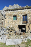 Rural house. Stone rural house in Pyrenees Stock Images