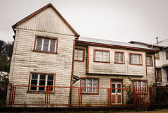 Rural House at Chiloe Royalty Free Stock Photo
