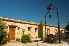 Rural House Finca Style royalty free stock image