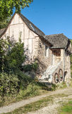 Rural house in France Royalty Free Stock Images