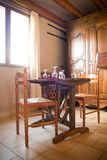 Rural house indoor Royalty Free Stock Photography