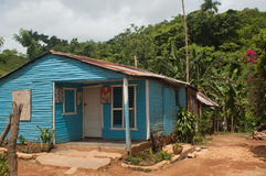 Rural house near Samana Stock Photography