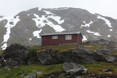 Rural house in Norway Stock Photo