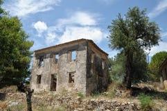 Rural house ruins Royalty Free Stock Photos