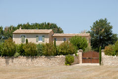 Rural house in southern France royalty free stock images