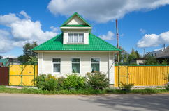 Rural house in the Tver region Stock Image
