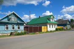 Rural house in the Tver region Royalty Free Stock Image