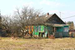 Rural house. In the Tver region Russia Royalty Free Stock Photography