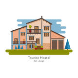 Rural house vector Royalty Free Stock Image