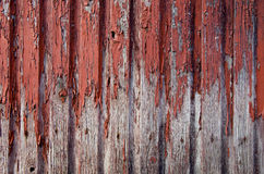 Rural house wall peel paint background closeup Royalty Free Stock Photography
