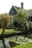 Rural house of Zaanse Schans, Holland Stock Photos
