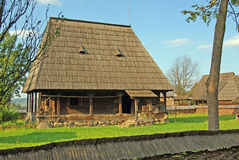Rural household in maramures Royalty Free Stock Photos