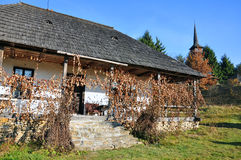 Rural household maramures. Rural household in Maramures land, northern Transylvania in Romania Royalty Free Stock Image