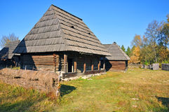 Rural household maramures Royalty Free Stock Images