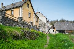 Rural houses Royalty Free Stock Image