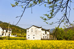 Rural houses in Wuyuan, Jiangxi Province, China. Stock Images