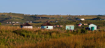 Rural housing. In South Africa Stock Photos