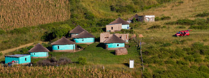 Rural housing. In South Africa Stock Images